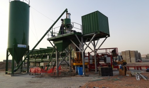 W30 – W45 Wet Batching Plant