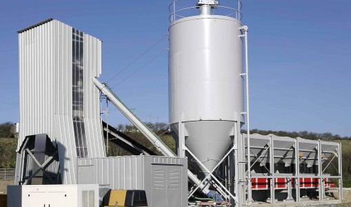 W90 – W110 Wet Batching Plant